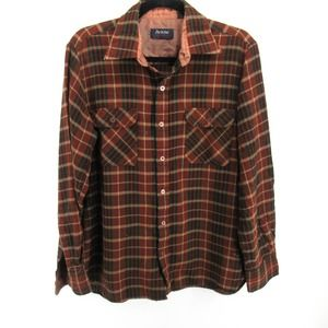 Arrow Vintage Button Up Flannel Shirt Jacket